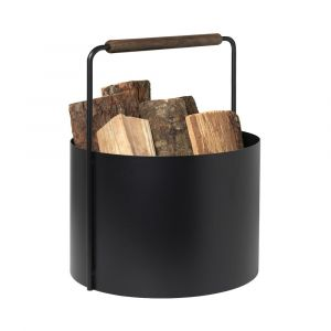 Feuerholz Korb ASHI braun