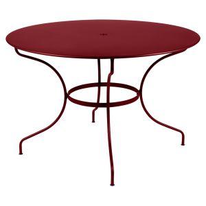 OPERA+ Tisch rund Ø 117 cm chili