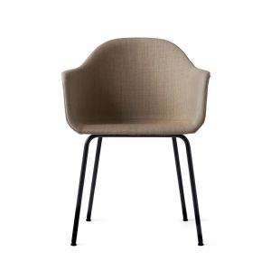 HARBOUR Dining Chair Stuhl mit Stahlgestell (gepolstert Remix 233)