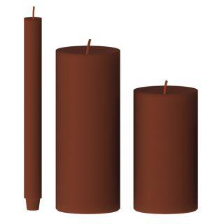 Kerze gegossen (kurkuma)