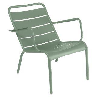 LUXEMBOURG Sessel tief (Aluminium)