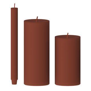 Kerze gegossen (ingwer)