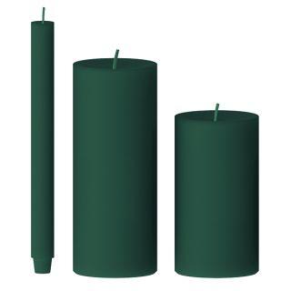 Kerze gegossen (eukalyptus)