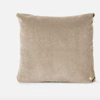 Cordkissen, Corduroy Cushion Beige