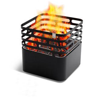 der CUBE Feuerkorb - Grill und Hocker in einem