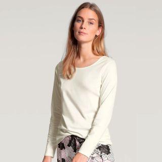 CALIDA FAVOURITES DREAMS  Langarm-Shirt star white (weiß)