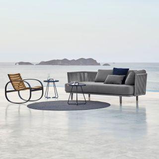 Moments 3 Sitzer Sofa mit Rahmen