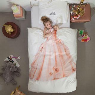 Kinderbettwäsche PRINZESSIN pink