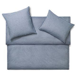PEPE FLANELL Bettwäsche Casual Basics bleu