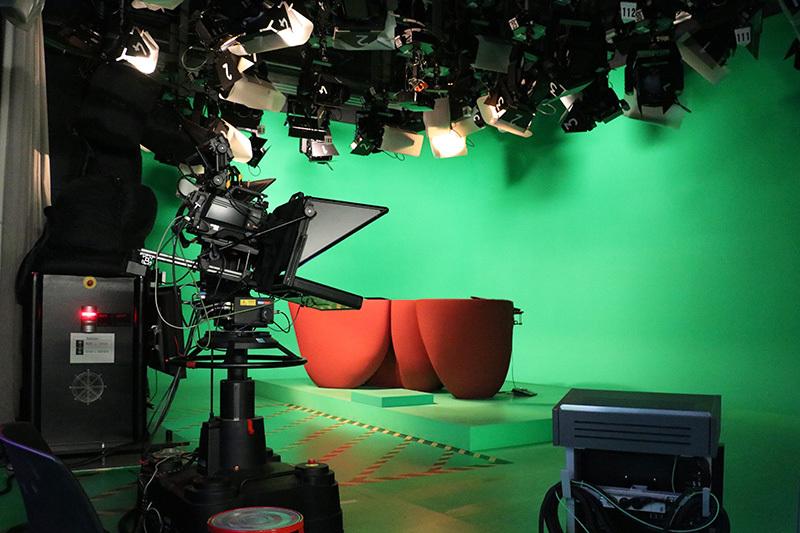 SWR Fernsehstudio Stuttgart, Foto Hans-Martin Goede